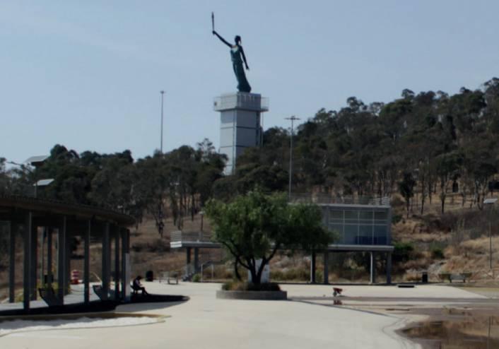 Lalo Rivera va por rescate de parque Amalucan abandonado hace 3 años